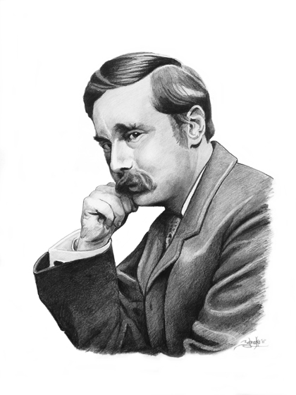 hg wells Ii his preoccupation in all this work was the impact on civilization of the dizzy progress of science and technology time and again, wells was among the first to fathom the implications of a given advance, and the first to cheer its coming or foresee grim consequences that others, less.