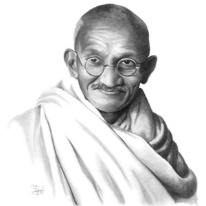 Mahatma Gandhi (Historical Portrait)